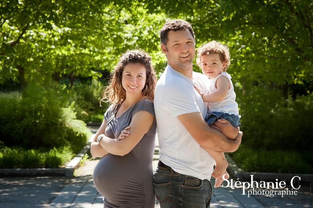 Séance photo maternité en famille à Québec